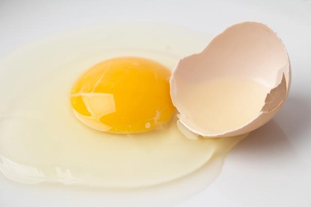 卵,ひび割れ,食べれる