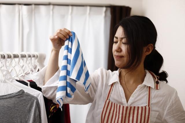 洗濯物,生乾き,臭い,取れない