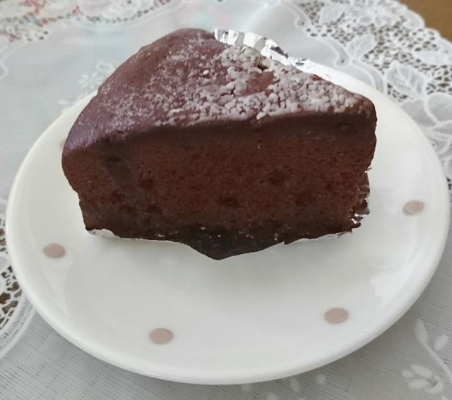 ガトー ショコラ,しぼむ