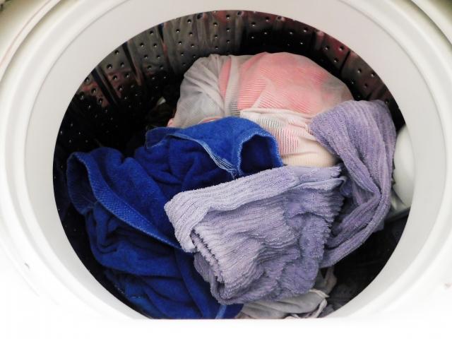 共働き,洗濯,いつする
