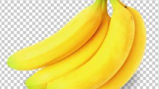 バナナ,朝か夜か