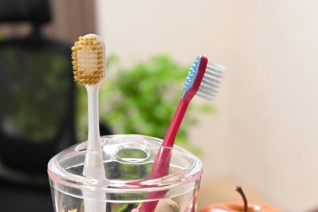 歯ブラシ,黒くなる,原因