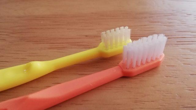 歯磨き,毛先,広がらない