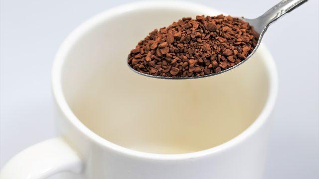 インスタントコーヒーが固まる