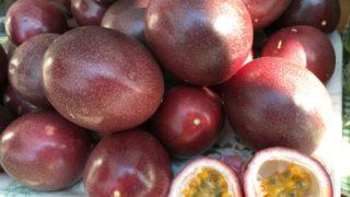 パッションフルーツ,皮,食べられる