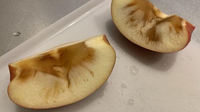 りんご,変色