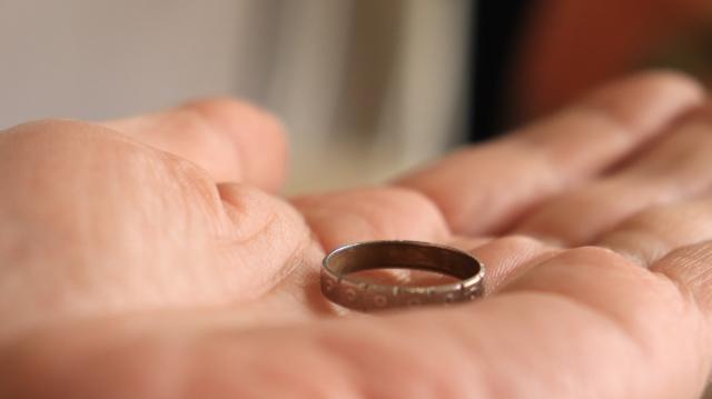 指輪,変色